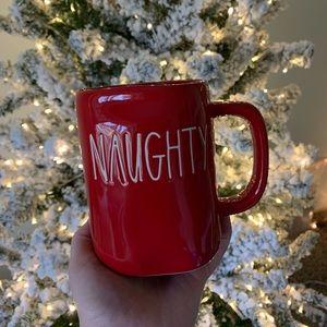 Rae Dunn Naughty & Nice Red Mug ❤️
